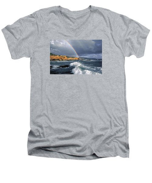 Eye Candy Men's V-Neck T-Shirt