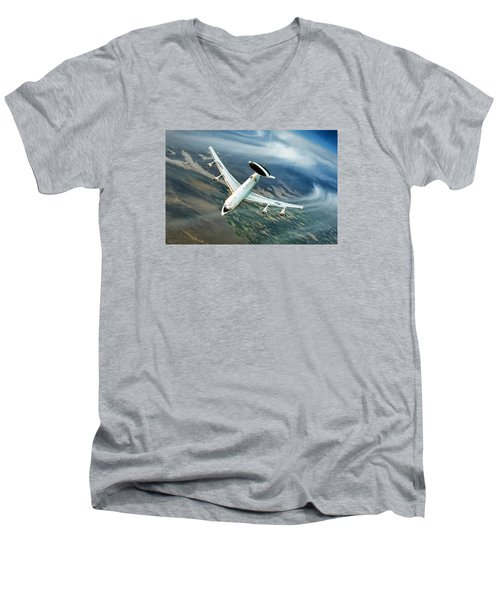 Eye In The Sky Men's V-Neck T-Shirt