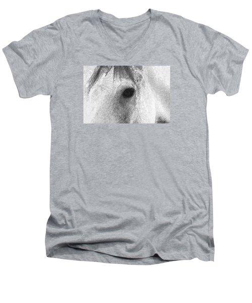 Eye Of The Horse Men's V-Neck T-Shirt