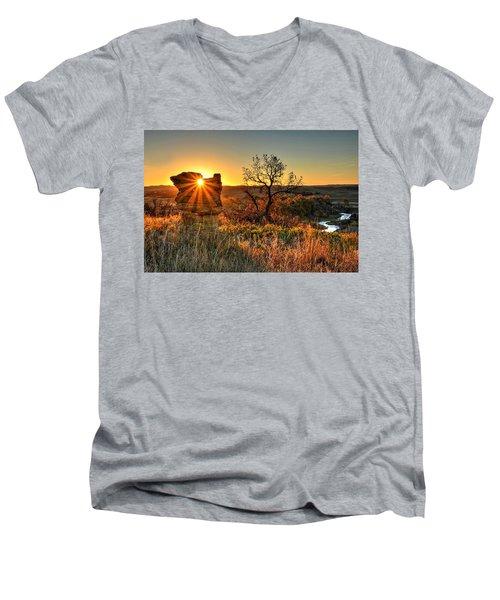 Eye Of The Monolith Men's V-Neck T-Shirt