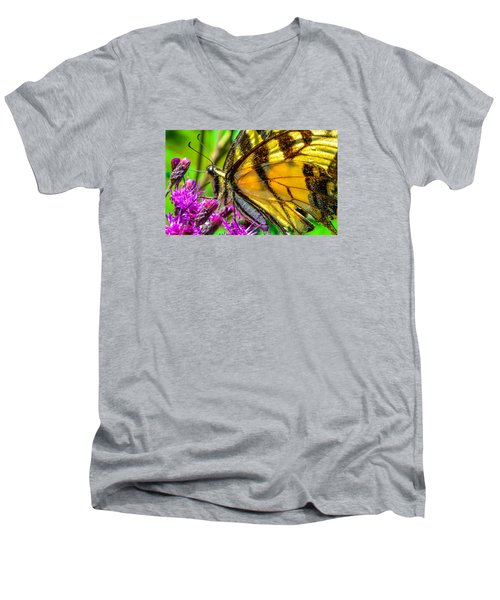 Eye Of The Tiger 3 Men's V-Neck T-Shirt