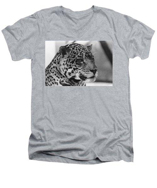 Eye Of The Tiger  Men's V-Neck T-Shirt