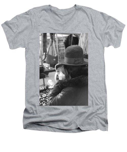 Eye Society Men's V-Neck T-Shirt