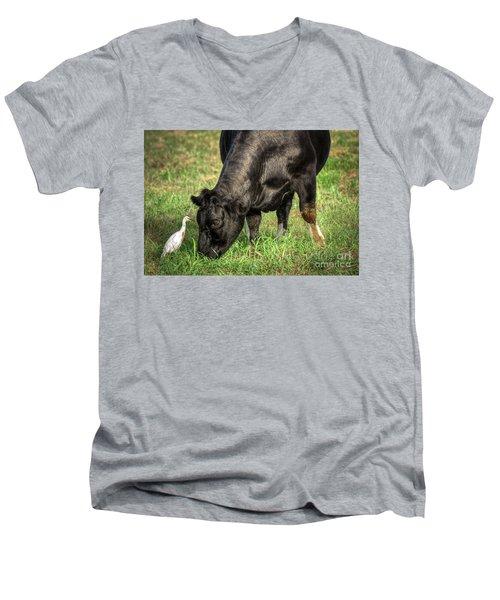 Eye To Eye Men's V-Neck T-Shirt