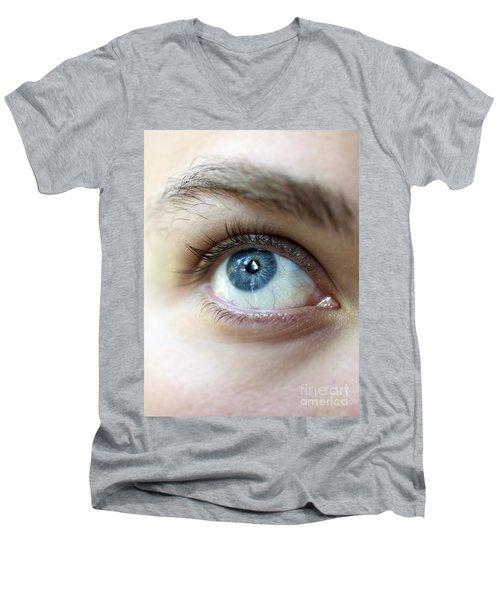 Eye Up Men's V-Neck T-Shirt
