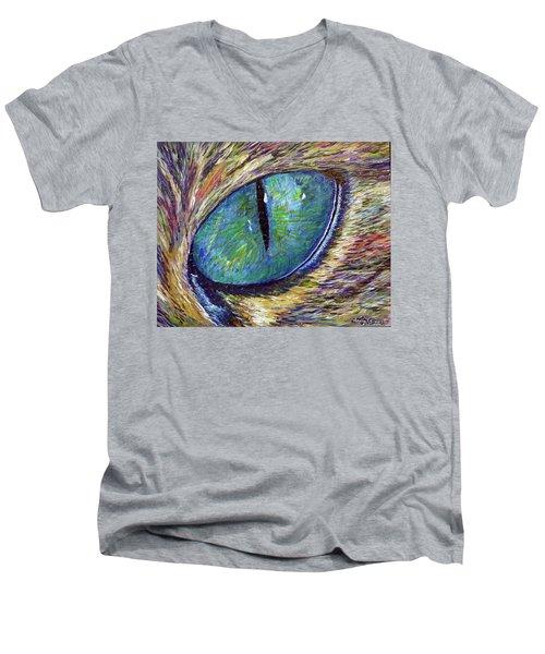 Eyenstein Men's V-Neck T-Shirt