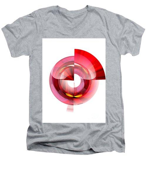 Eyes In Tunnel Men's V-Neck T-Shirt