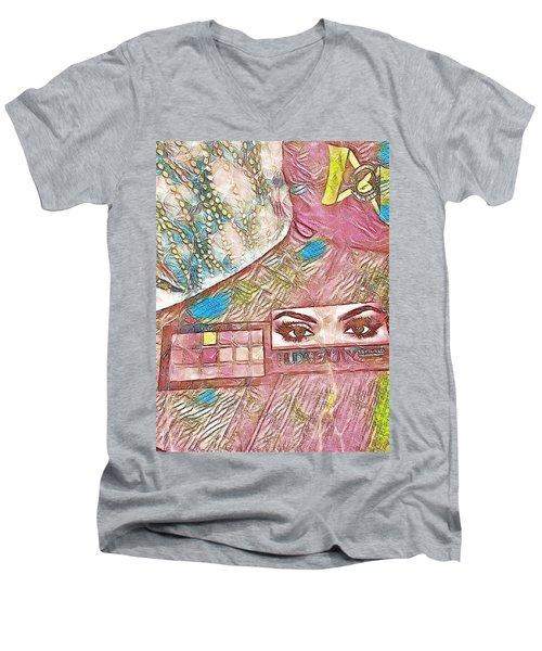 Eyes Men's V-Neck T-Shirt