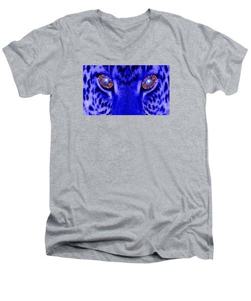 Eyes Of The Leppard Men's V-Neck T-Shirt