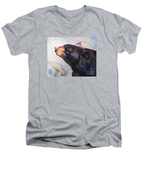 Eyes Turned Skyward Men's V-Neck T-Shirt