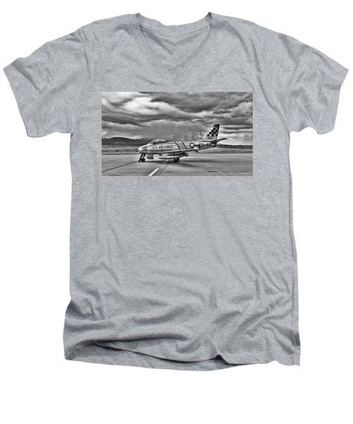 F-86 Sabre Men's V-Neck T-Shirt