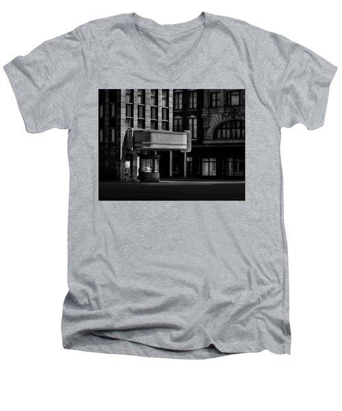 Facades Fade Men's V-Neck T-Shirt