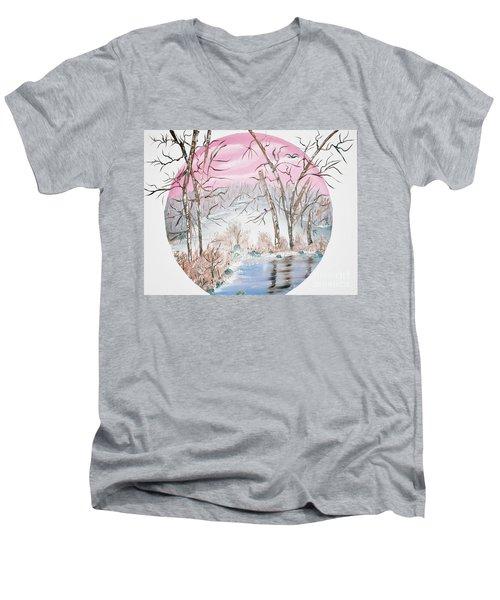 Faccino Men's V-Neck T-Shirt