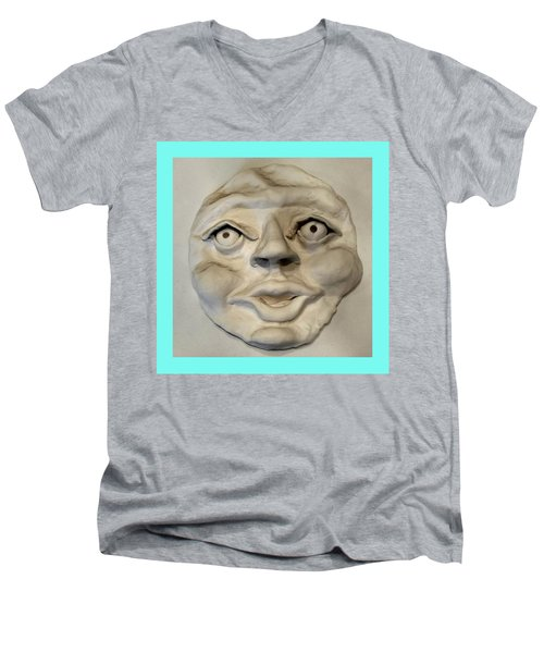 Face Men's V-Neck T-Shirt