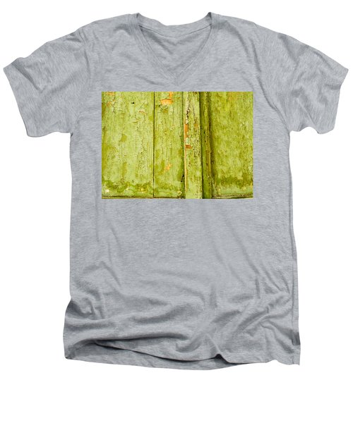 Men's V-Neck T-Shirt featuring the photograph Fading Old Paint by John Williams