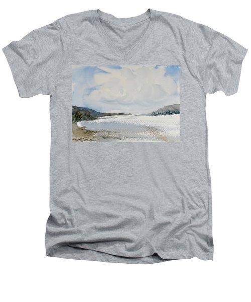 Fair Weather Or Foul? Men's V-Neck T-Shirt