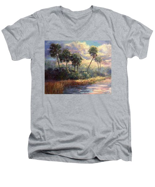 Fairchild Gardens Men's V-Neck T-Shirt