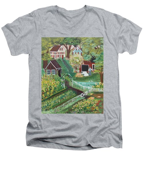 Fairview Farm Men's V-Neck T-Shirt