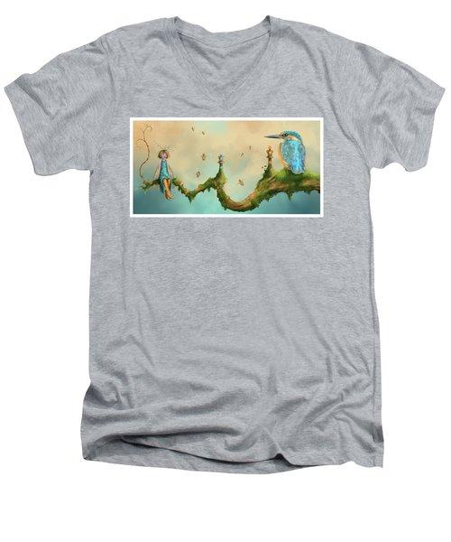 Fairy Chess Men's V-Neck T-Shirt