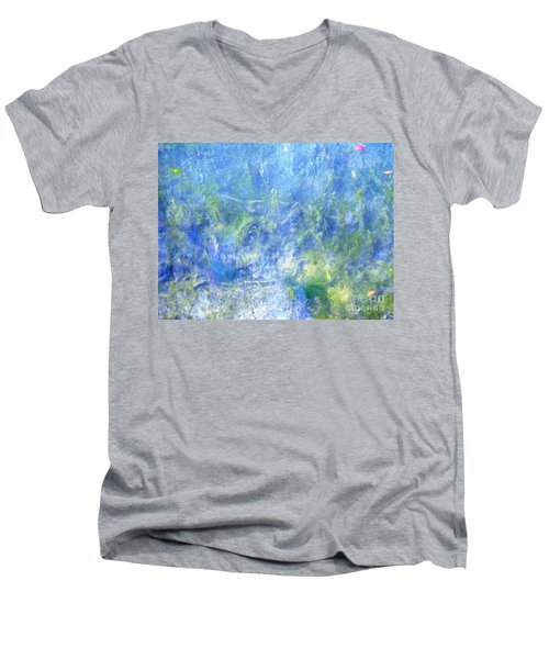 Fairy Ring Beneath The Surface Men's V-Neck T-Shirt by Melissa Stoudt