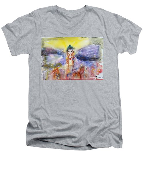 Fairy World Men's V-Neck T-Shirt