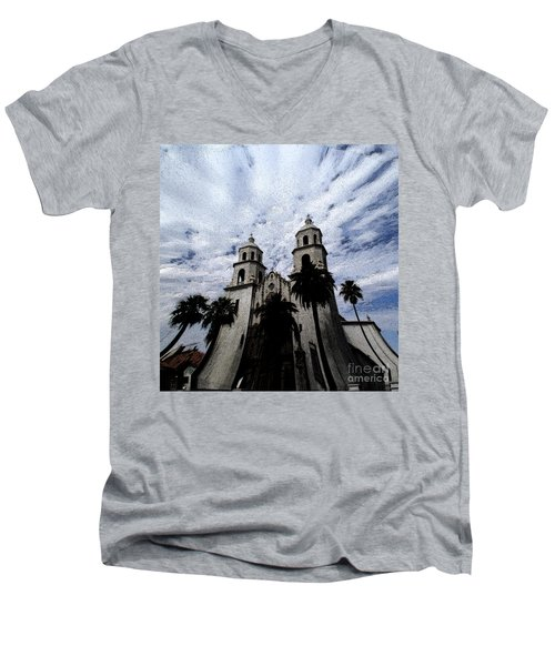 Faith Arizona Men's V-Neck T-Shirt