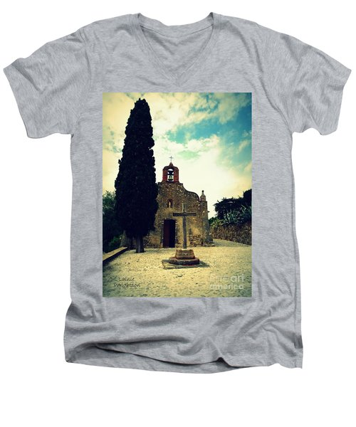 Faith Hope Love Men's V-Neck T-Shirt
