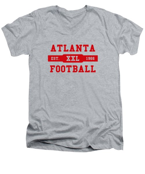 Falcons Retro Shirt Men's V-Neck T-Shirt