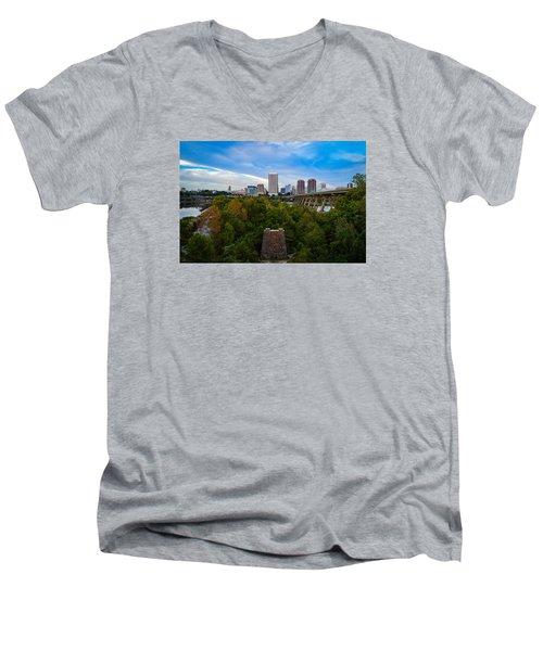 Fall Approaching In Richmond Men's V-Neck T-Shirt