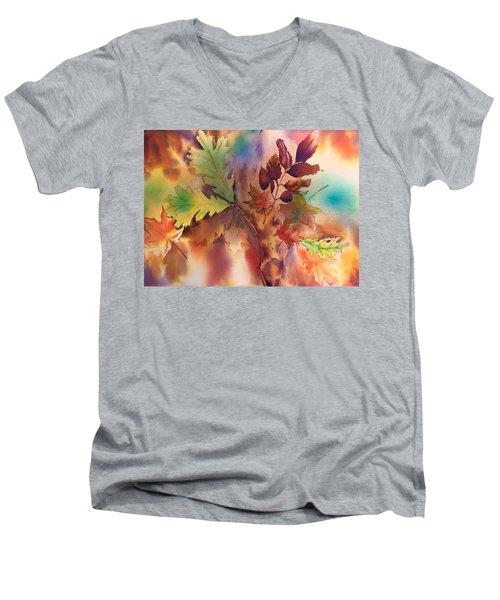Fall Bouquet Men's V-Neck T-Shirt