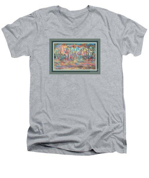 Fall Color Riot Men's V-Neck T-Shirt
