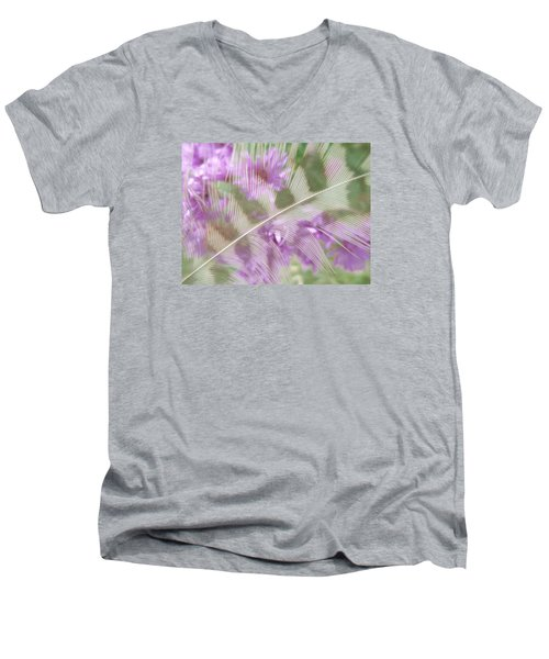 Fall Feather Men's V-Neck T-Shirt