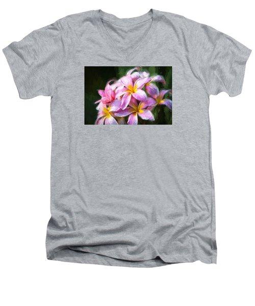 Fall Flowers V.2 Men's V-Neck T-Shirt