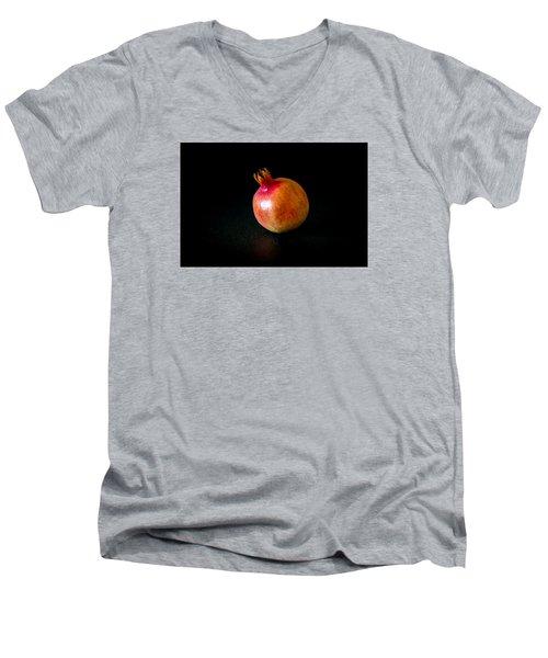 Fall Fruits Men's V-Neck T-Shirt by Cesare Bargiggia