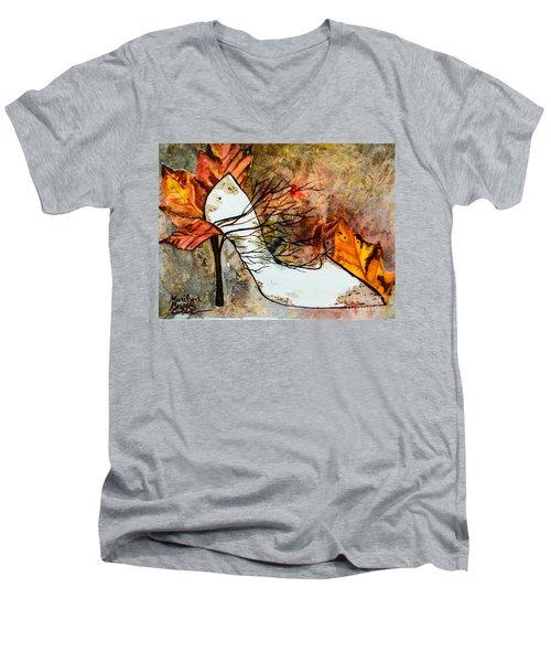 Fall In Art Men's V-Neck T-Shirt