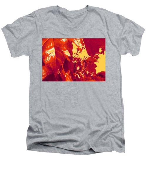 Fall Leaves #13 Men's V-Neck T-Shirt