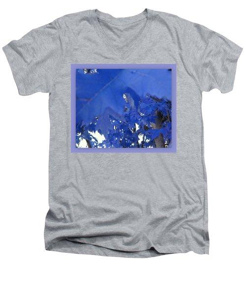 Fall Leaves #7 Men's V-Neck T-Shirt