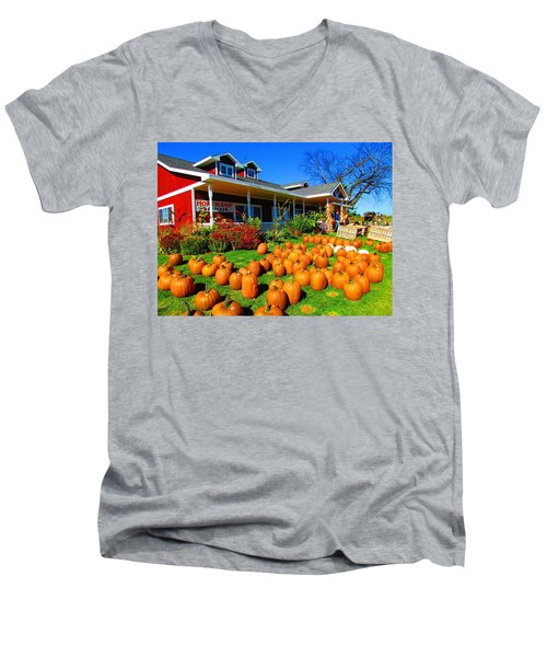 Fall Market Men's V-Neck T-Shirt