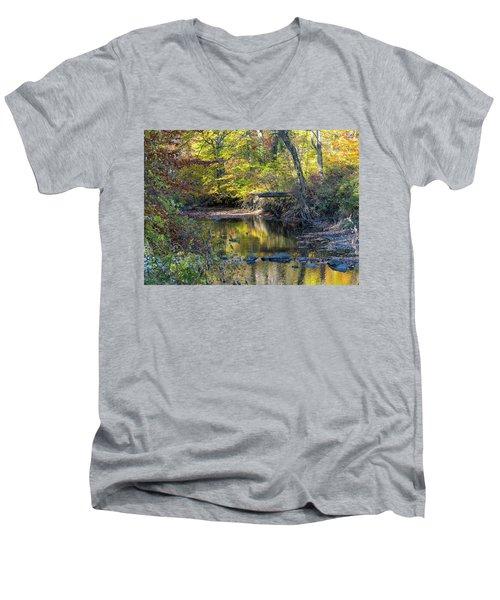 Fall Morning Men's V-Neck T-Shirt