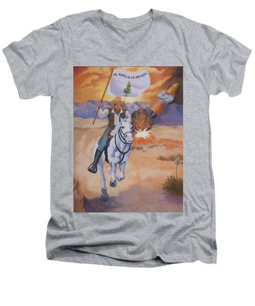 Fall Of Babylon Men's V-Neck T-Shirt