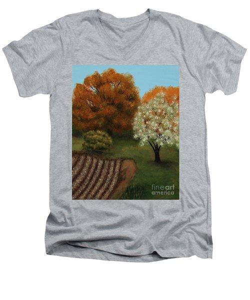 Fall Rendezvous Men's V-Neck T-Shirt