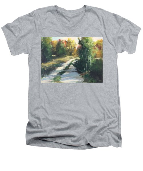 Fall Shadows Men's V-Neck T-Shirt