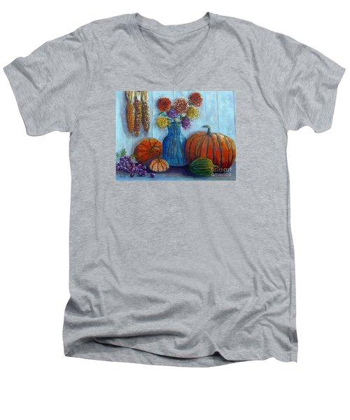 Autumn Still Life Men's V-Neck T-Shirt