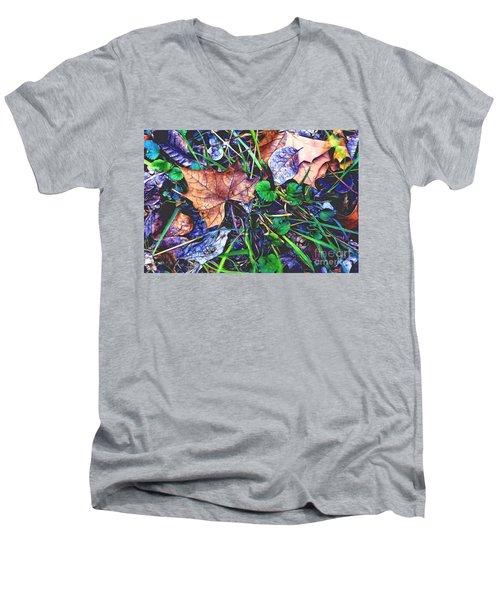Fallen #3 Men's V-Neck T-Shirt