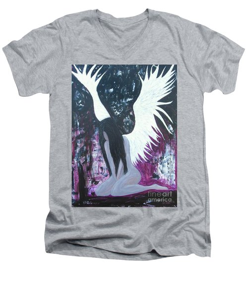 Fallen Angel Men's V-Neck T-Shirt