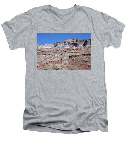 Men's V-Neck T-Shirt featuring the photograph Fallen Giants by Gary Kaylor