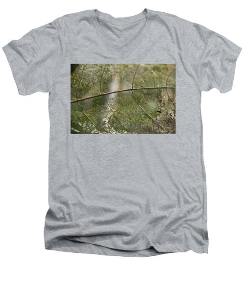 fallen Leaf Men's V-Neck T-Shirt