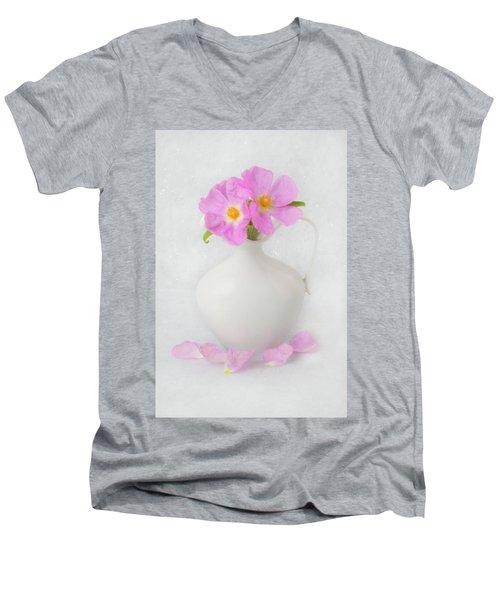 Fallen Petals Men's V-Neck T-Shirt