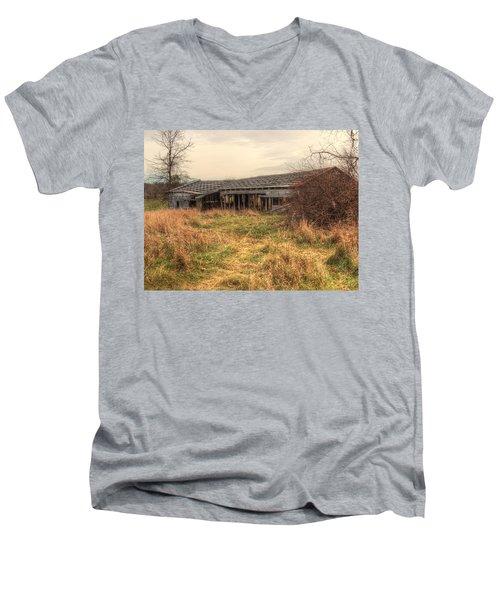 Falling Down Men's V-Neck T-Shirt