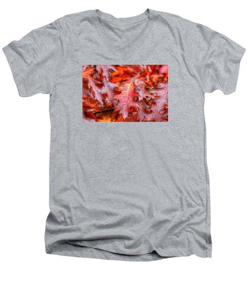 Falling For You Men's V-Neck T-Shirt by Lynn Hopwood